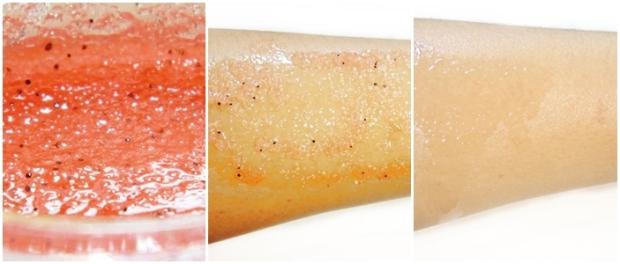 Tratamento Braço, esfoliante e óleo corporal
