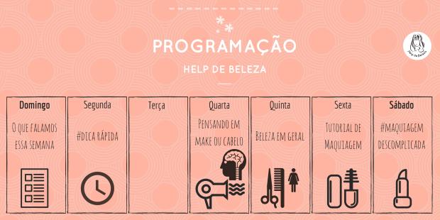 Programação Help de Beleza